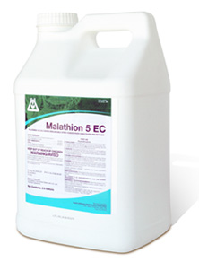 malathion 5 EC Water Emulsifiable Spray Concentrate Insecticide and Miticide
