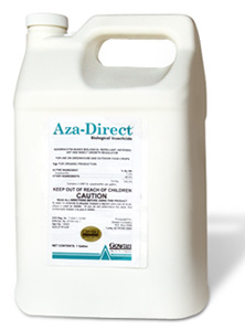 Aza-Direct Azadirachtin-Based Botanical Antifeedant, Repellant and Insect Growth Regulator for Use on Greenhouse and Outdoor Food Crops